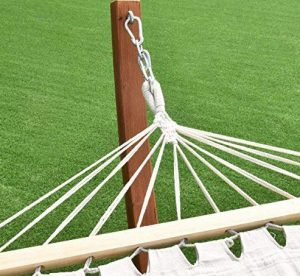 Giantex Wooden Curved Arc Wide Hammock