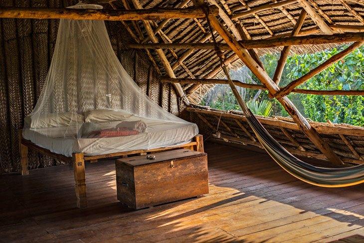 best camping hammock bug net