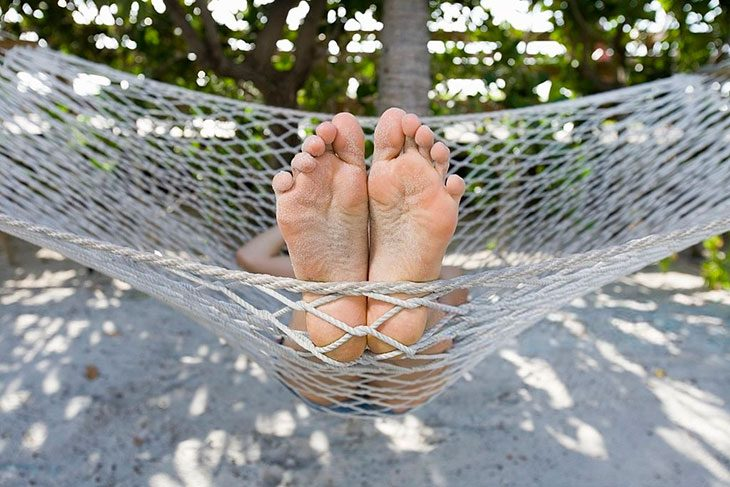 how to make a rope net hammock