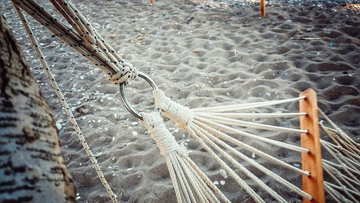 how to make a rope hammock step by step