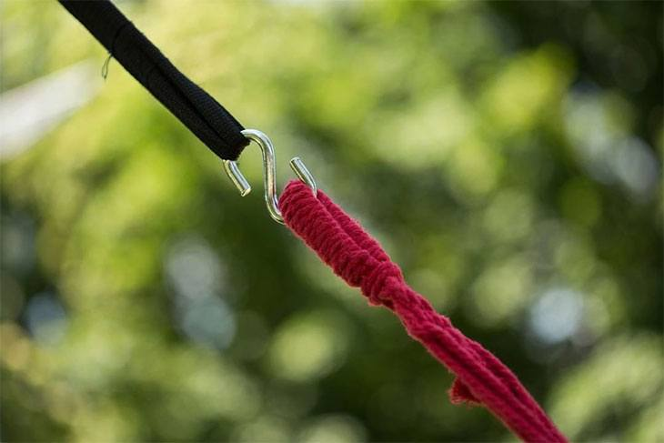 how to use hammock straps with loops