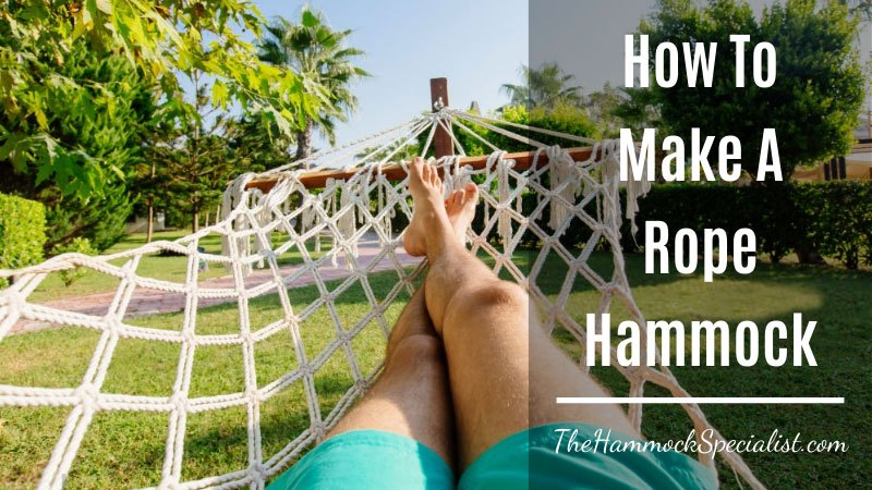 how to make a rope hammock