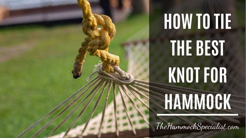 best knot for hammock and hammock chair