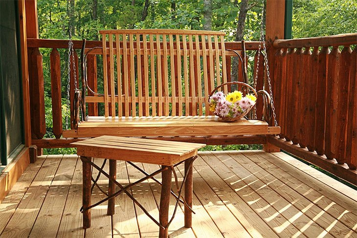 best porch swing with stand