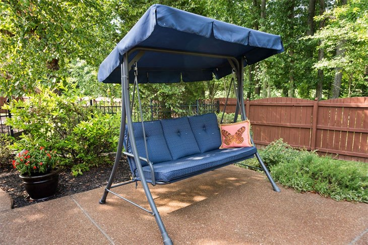 best porch swing with canopy