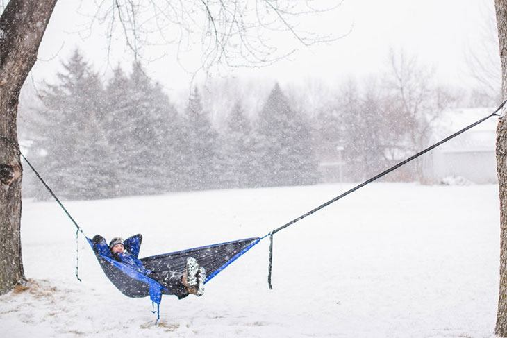 hammock underquilt cold weather